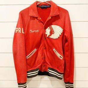 POLO by Ralph Lauren Vintage Look Varsity Jacket
